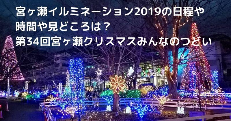 イルミネーション 2019 宮ケ瀬